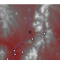 Nearby Forecast Locations - Taos - Mapa