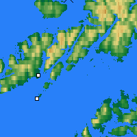 Nearby Forecast Locations - Stokmarknes - Mapa