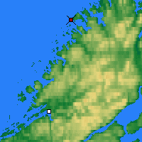 Nearby Forecast Locations - Buholmråsa Lighthouse - Mapa