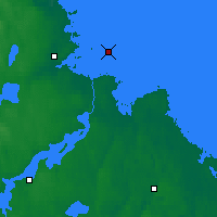 Nearby Forecast Locations - Eggegrund - Mapa