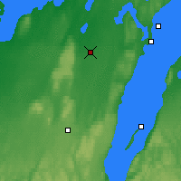 Nearby Forecast Locations - Skövde - Mapa