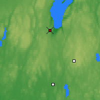 Nearby Forecast Locations - Jönköping - Mapa