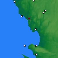 Nearby Forecast Locations - Broen - Mapa