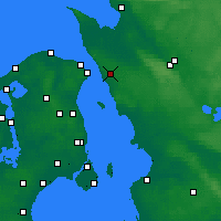 Nearby Forecast Locations - Helsingborg - Mapa
