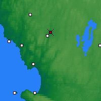 Nearby Forecast Locations - Torup - Mapa