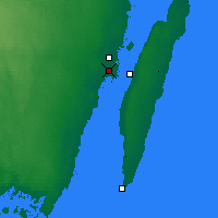 Nearby Forecast Locations - Kalmar - Mapa