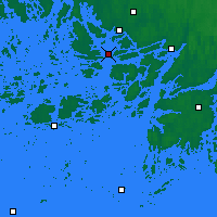 Nearby Forecast Locations - Turku Rajakari - Mapa