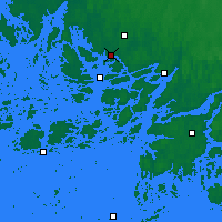 Nearby Forecast Locations - Turku Artukainen - Mapa