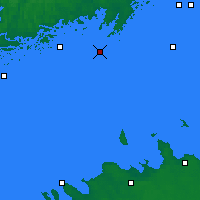 Nearby Forecast Locations - Kirkkonummi Makiluoto - Mapa