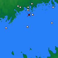 Nearby Forecast Locations - Töölö - Mapa