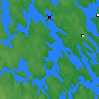 Nearby Forecast Locations - Viitasaari - Mapa