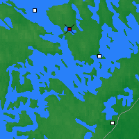 Nearby Forecast Locations - Savonlinna - Mapa