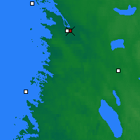 Nearby Forecast Locations - Pori - Mapa