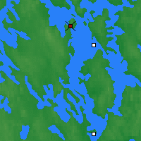 Nearby Forecast Locations - Kuopio - Mapa