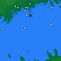 Nearby Forecast Locations - Isosaari - Mapa