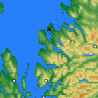 Nearby Forecast Locations - Ullapool - Mapa