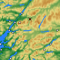 Nearby Forecast Locations - Tulloch Roy Bridge - Mapa