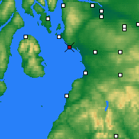 Nearby Forecast Locations - Ardrossan - Mapa