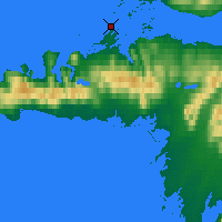 Nearby Forecast Locations - Stykkishólmsbær - Mapa