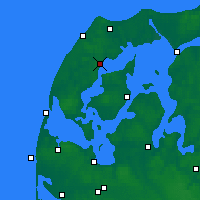 Nearby Forecast Locations - Silstrup - Mapa