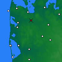 Nearby Forecast Locations - Mejrup - Mapa