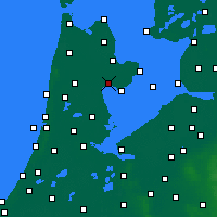 Nearby Forecast Locations - Hoorn - Mapa