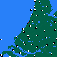 Nearby Forecast Locations - Noordwijk - Mapa