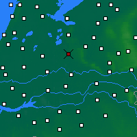 Nearby Forecast Locations - Utrecht - Mapa