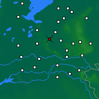 Nearby Forecast Locations - Amersfoort - Mapa