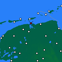 Nearby Forecast Locations - Lauwersoog - Mapa
