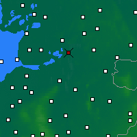 Nearby Forecast Locations - Meppel - Mapa
