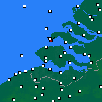 Nearby Forecast Locations - Burgh-Haamstede - Mapa