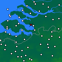 Nearby Forecast Locations - Tholen - Mapa