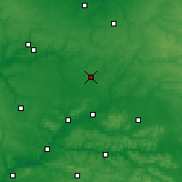 Nearby Forecast Locations - San Quintín - Mapa