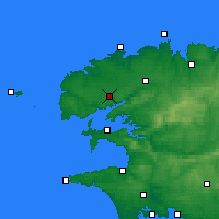 Nearby Forecast Locations - Brest - Mapa