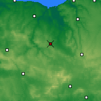 Nearby Forecast Locations - Falaise - Mapa