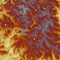 Nearby Forecast Locations - Embrun - Mapa