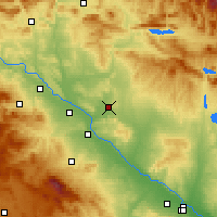 Nearby Forecast Locations - Bardenas Reales - Mapa