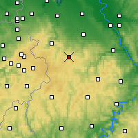 Nearby Forecast Locations - Nettersheim - Mapa