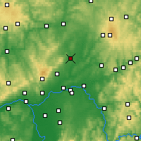 Nearby Forecast Locations - Friedberg - Mapa