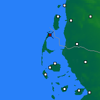 Nearby Forecast Locations - Sylt - Mapa