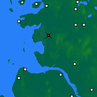 Nearby Forecast Locations - Heide - Mapa