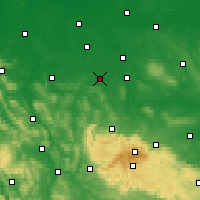 Nearby Forecast Locations - Salzgitter - Mapa
