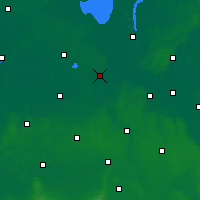 Nearby Forecast Locations - Oldemburgo - Mapa