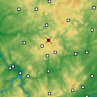 Nearby Forecast Locations - Siegerland - Mapa