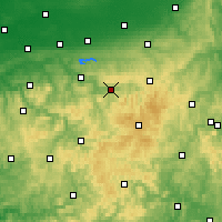 Nearby Forecast Locations - Meschede - Mapa