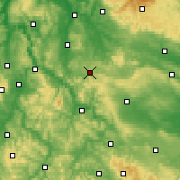 Nearby Forecast Locations - Heiligenstadt - Mapa