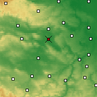 Nearby Forecast Locations - Artern - Mapa