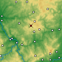Nearby Forecast Locations - Westerwald - Mapa