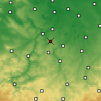 Nearby Forecast Locations - Osterfeld - Mapa